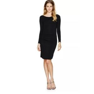 Aritzia Babaton Joaquin Ruched Draped Dress